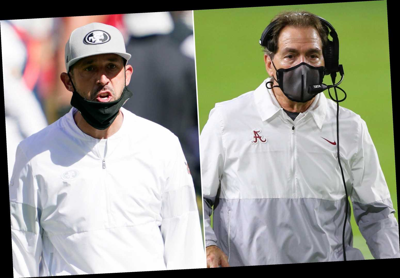Nick Saban throws twist into 49ers-Mac Jones 2021 NFL Draft saga