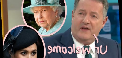 Piers Morgan Claims Royal Family Members Have Thanked Him For 'Standing Up' To Meghan Markle