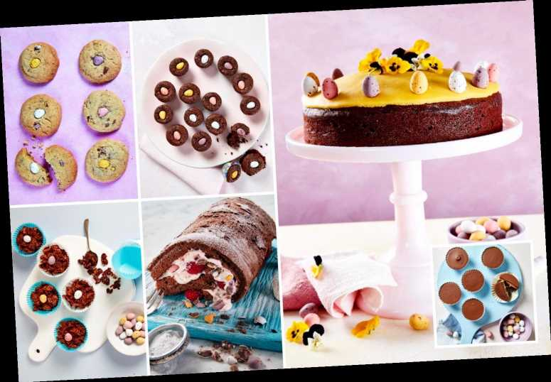 Six delicious ways to use up leftover mini eggs from peanut butter cups to raspberry roulade