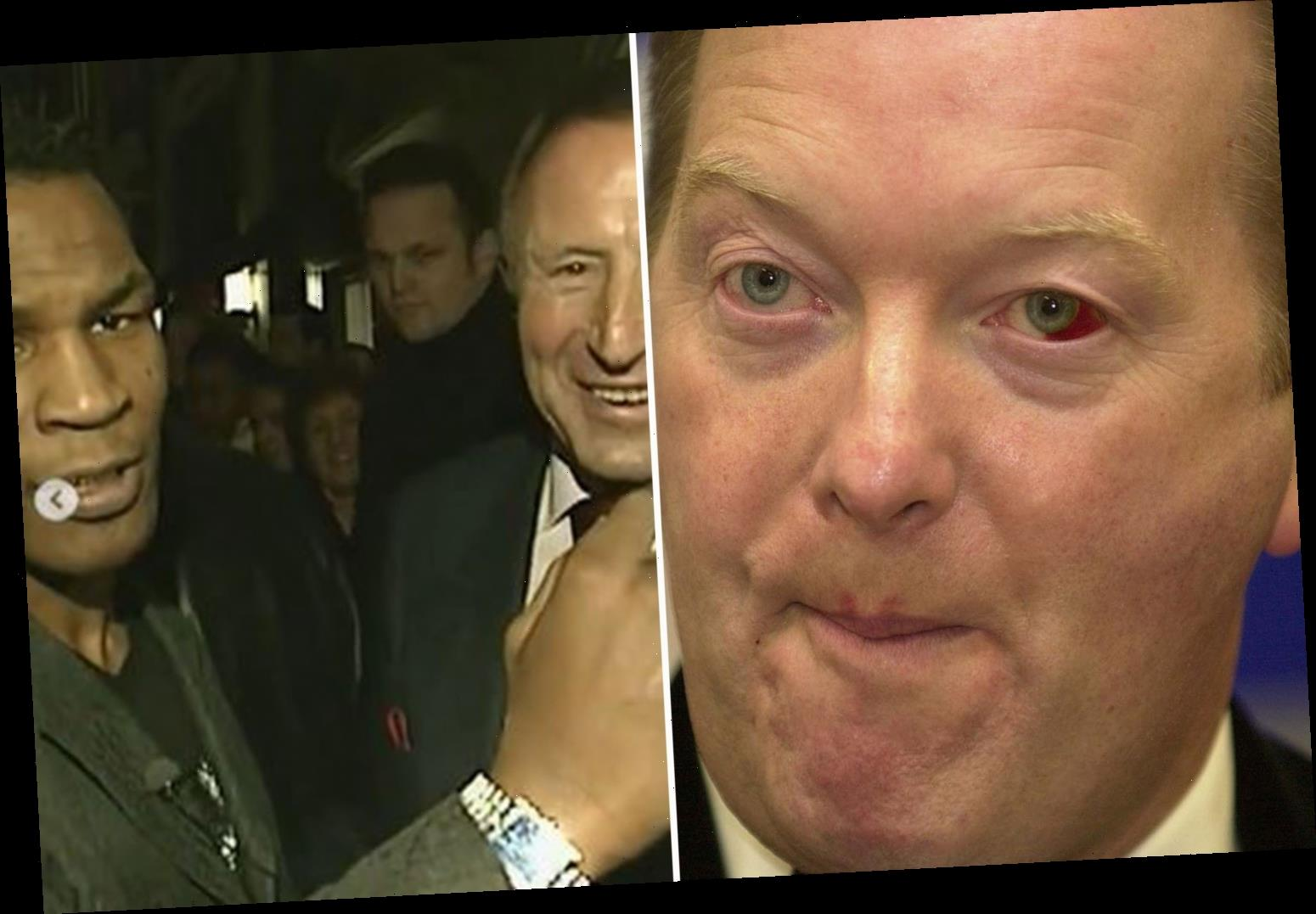Frank Warren reveals what REALLY happened after being floored by Mike Tyson with punch in hotel bust-up over jewellery