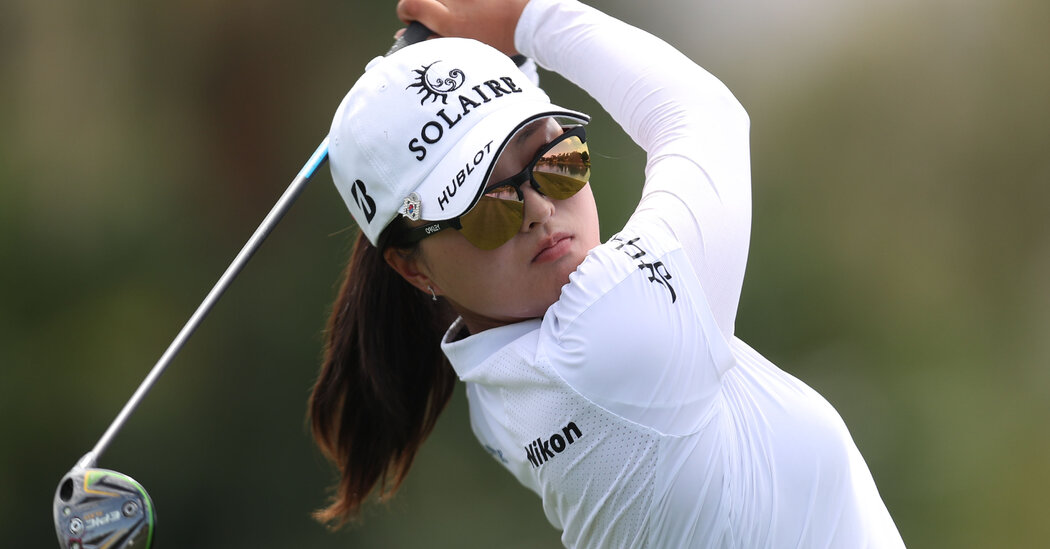 For Korea's Golfers Eyeing the Olympics, More Than Four Is a Crowd