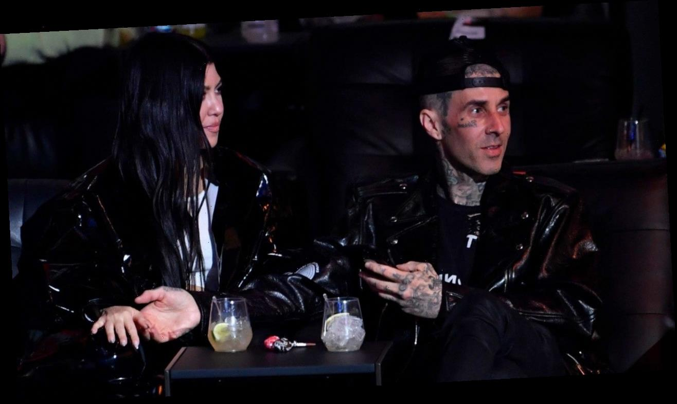 Travis Barker Joins Kardashian-Jenners for Easter: Pics!