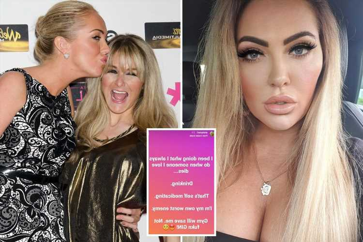 Aisleyne Horgan Wallace sparks concern after the death of Big Brother housemate Nikki Grahame