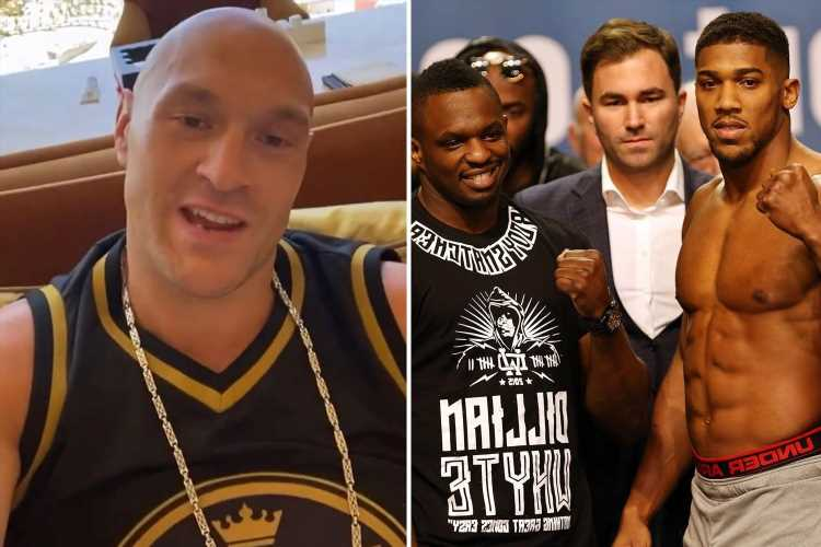 Anthony Joshua joins old enemy Dillian Whyte in calling Tyson Fury 'Luke' after claims he changed name to sound 'harder'