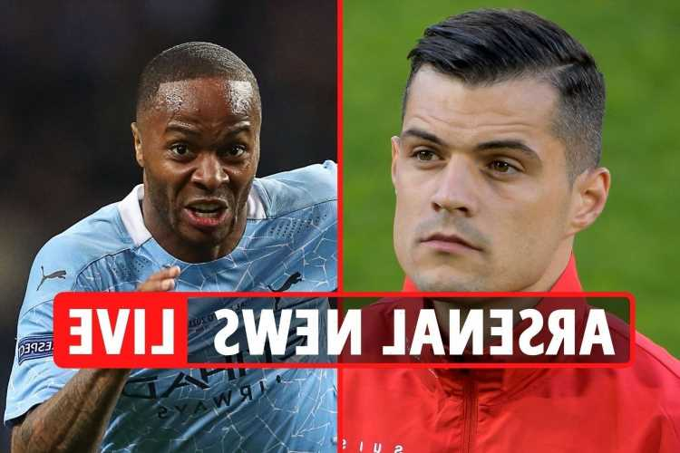 Arsenal 'want Sterling transfer as Man City put winger up FOR SALE', Xhaka to Roma LATEST, Odegaard updates