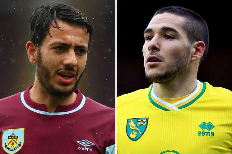 Aston Villa planning double transfer swoop for Burnley star Dwight McNeil and Norwich's Arsenal target Emi Buendia