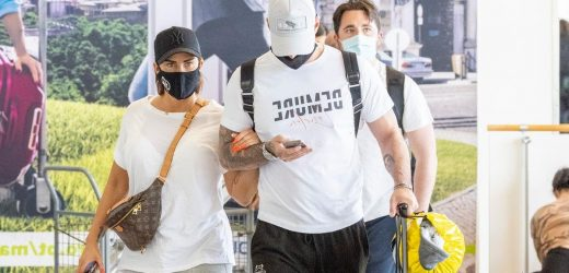 Bankrupt Katie Price and Carl Woods jet off to sunny Portugal immediately after restrictions lift