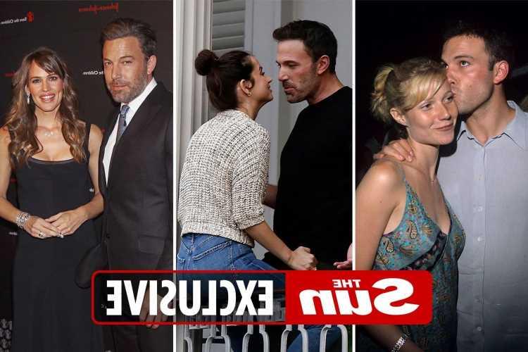 Ben Affleck girlfriend list: From JLo to Ana De Armas