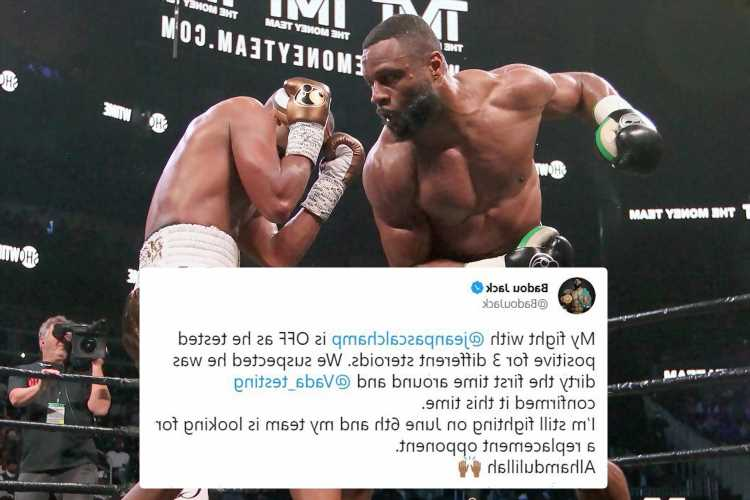 Boxing star Jean Pascal 'fails drugs test for THREE banned substances' with Badou Jack fight off leaving rival fuming