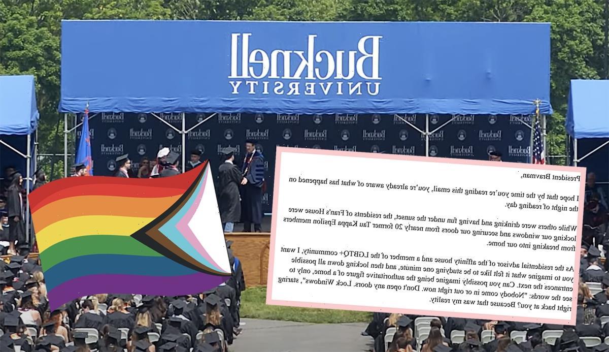 Bucknell University Investigating Alleged Former Frat Boys Who Attempted To Break Into LGBTQ+ Housing