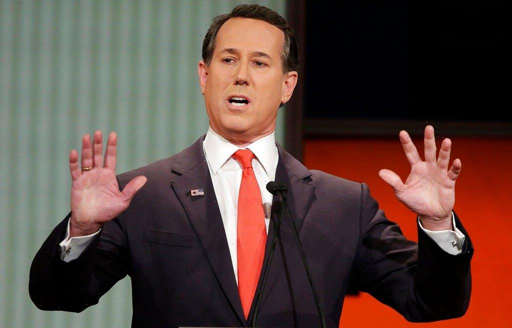 CNN Parts Ways With Contributor Rick Santorum After Furor Over Comments About Native Americans