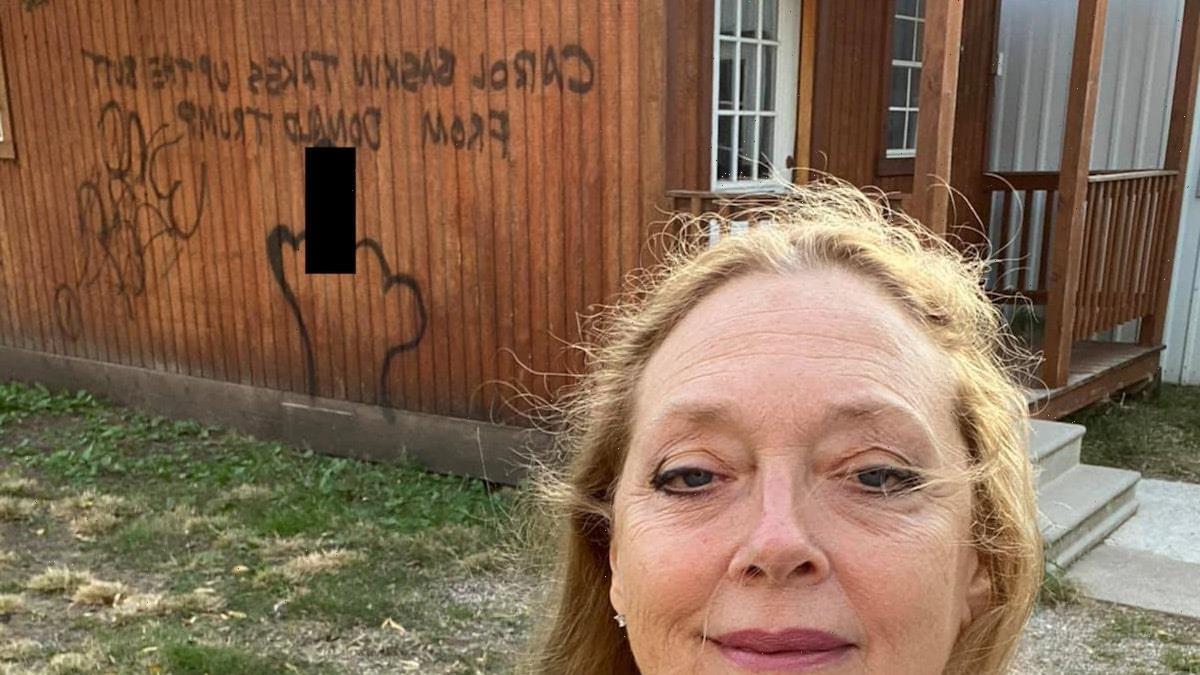 Carole Baskin's Zoo Once Owned By Joe Exotic Vandalized with Graffiti, Trash