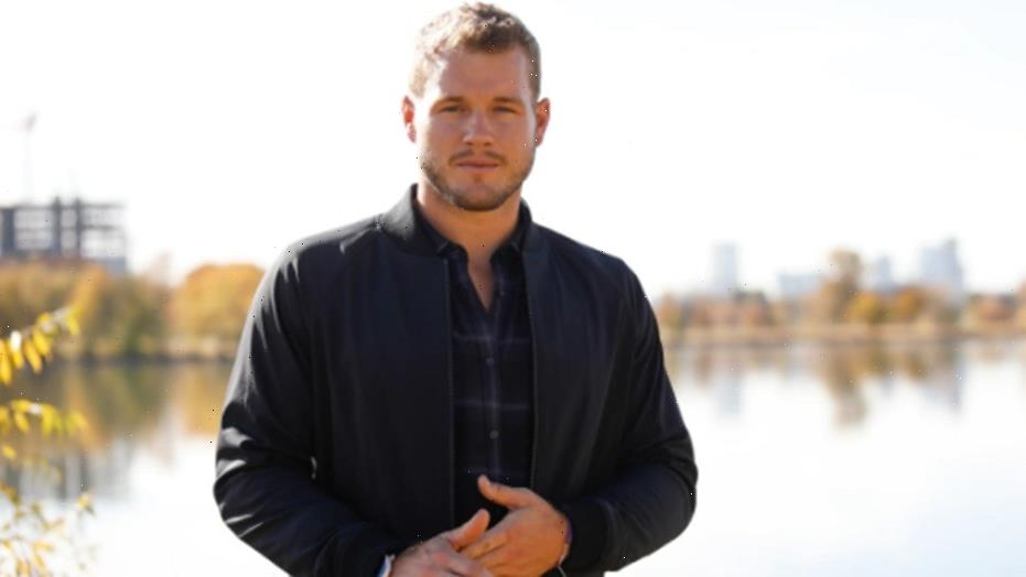 Colton Underwood says he was blackmailed with alleged nude photos before coming out