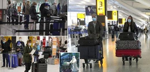 Covid lockdown UK: Hundreds queue before 6AM at Heathrow and Gatwick