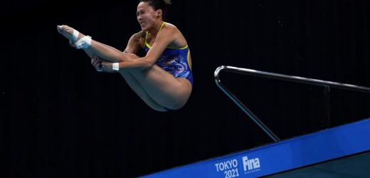 Diving: Singapore's Freida Lim has all but secured a place at the Olympics