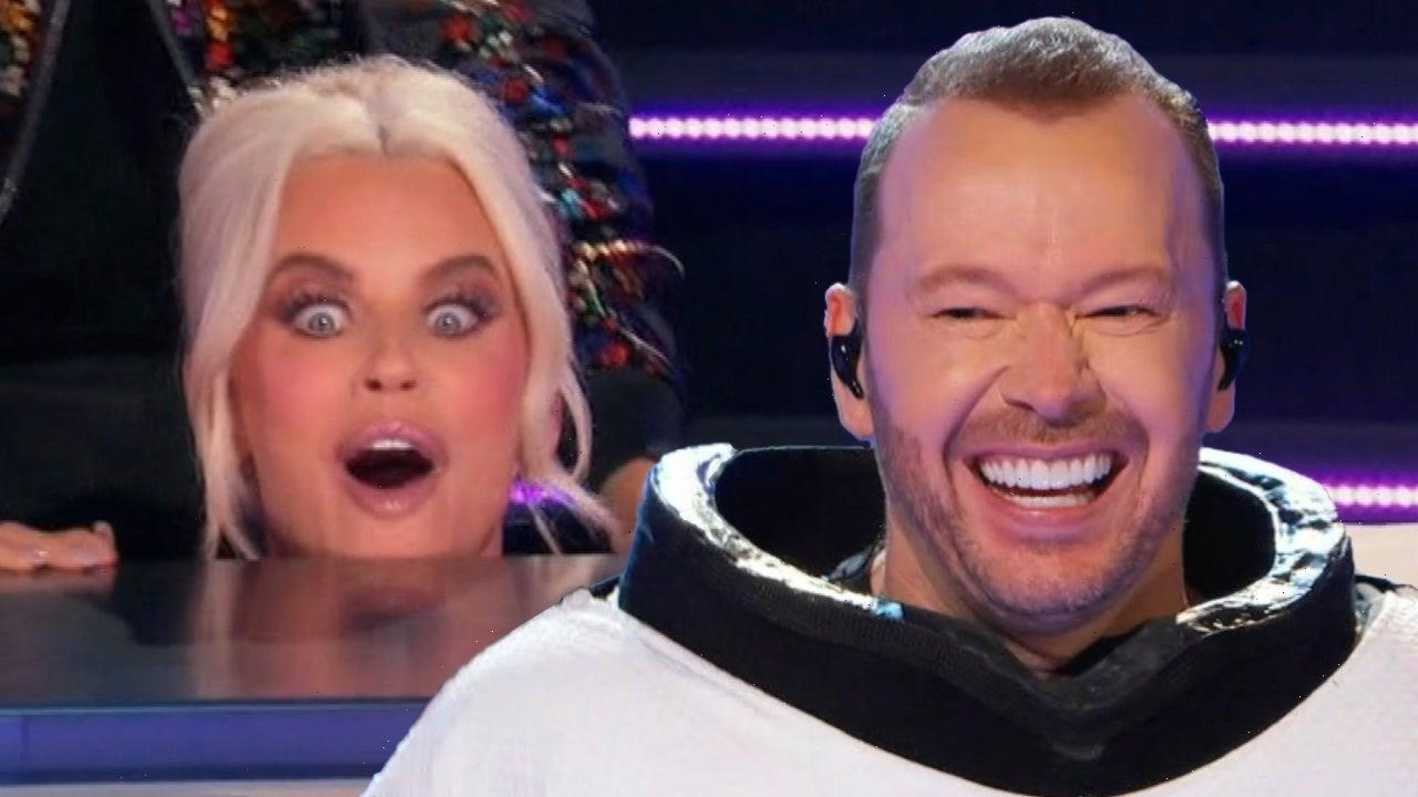 Donnie Wahlberg on How He Pulled Off His Epic Masked Singer' Reveal