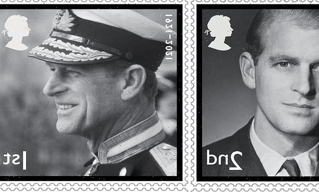Duke of Edinburgh's life commemorated on black and white stamps