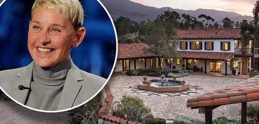 Ellen DeGeneres pays $14M to buy back historic estate she sold in 2018