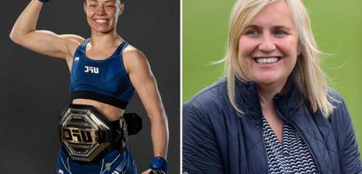 Hayes says watching UFC champ Namajunas helped inspire Chelsea's Champions League progress