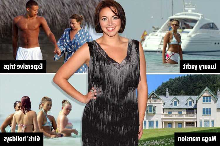 How Charlotte Church spent her £25m fortune – from £10k girls holidays to £800k yacht as she takes Pontins bingo gig