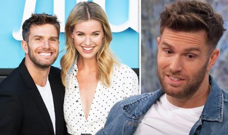 Joel Dommett's model wife Hannah talks their height difference 'Wish he'd stand on a step'