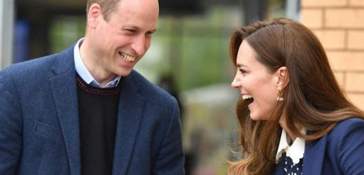Kate Middleton and Prince William step out in matching outfits