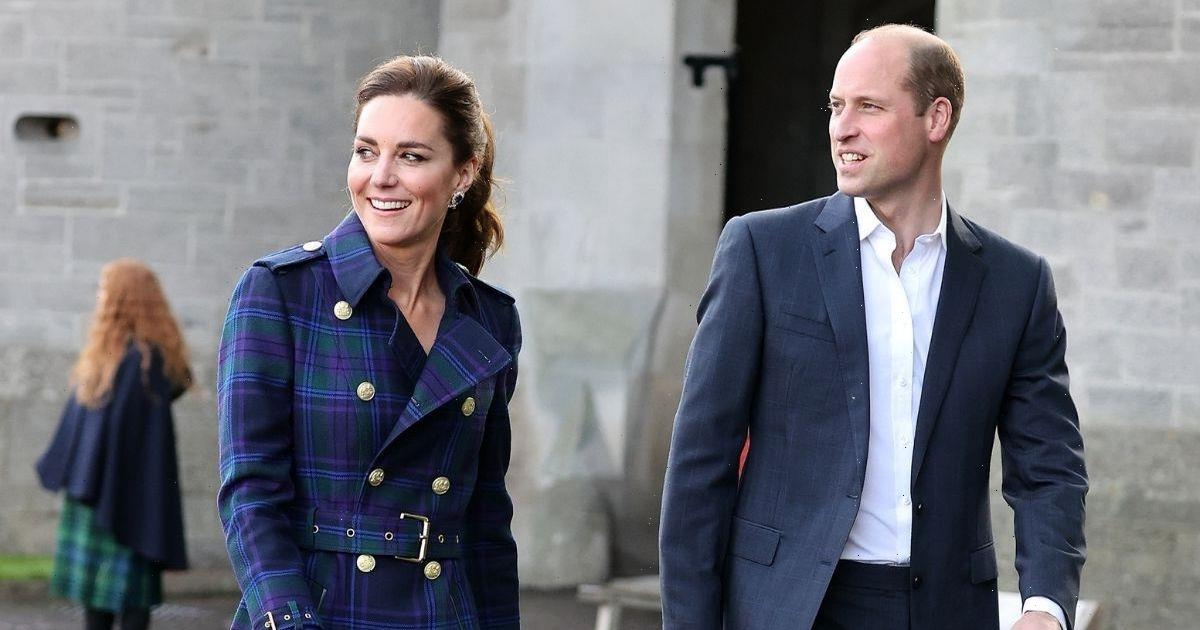 Kate Middleton pays a sweet tribute to Scotland in tartan trench as she enjoys a night at the movies