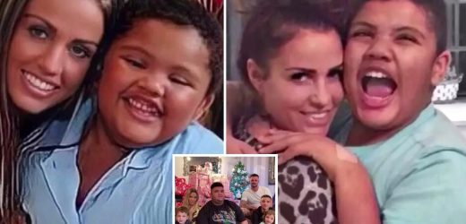 Katie Price pays powerful tribute to son Harvey as he turns 19 saying 'he has kept me going – he's my world'
