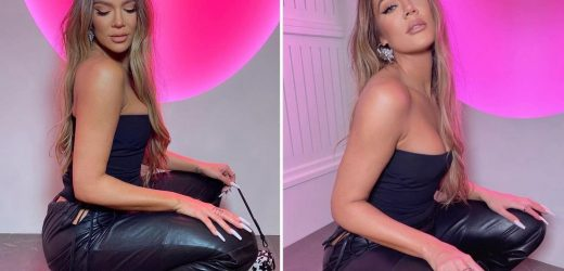 Khloe Kardashian looks unrecognizable ditching underwear in leather pants for saucy new pics after photoshop accusations