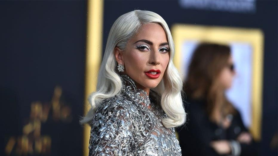 Lady Gaga shares cheeky bikini pictures in tie-dye thong two-piece