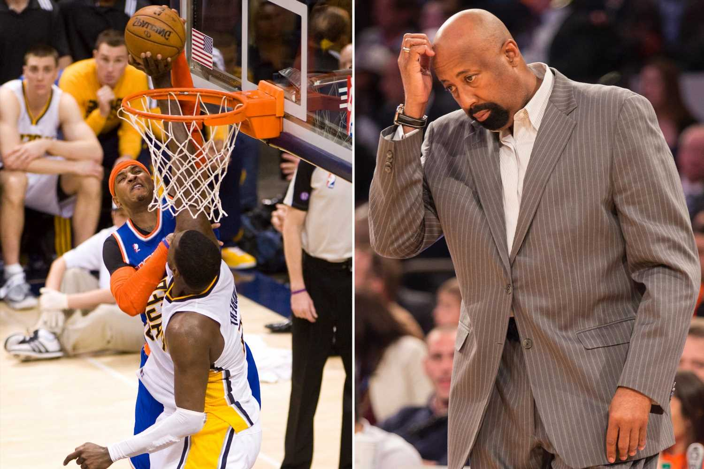 Lasting image of Knicks' last playoff series still haunts Mike Woodson