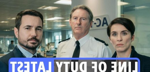 Line of Duty latest – Stars to get matching AC-12 TATTOOS – including Ted Hastings' Adrian Dunbar – as 12m watch finale