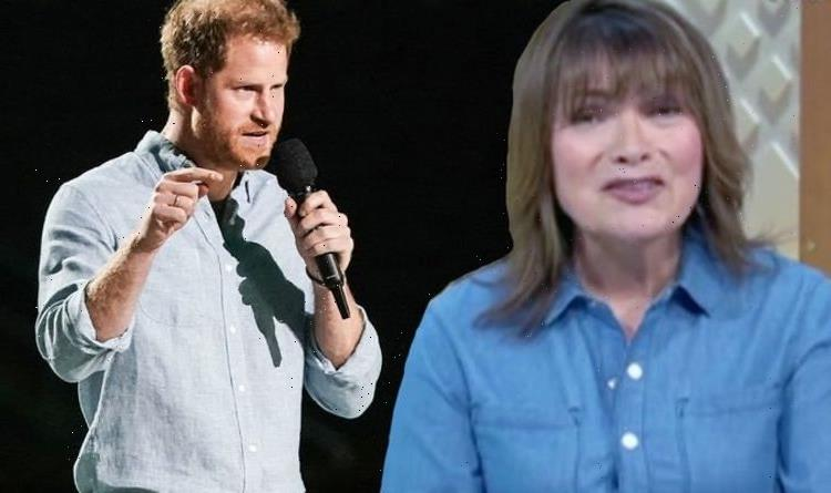 Lorraine Kelly 'baffled' by Prince Harry's Charles comments amid his 'awkward' UK return