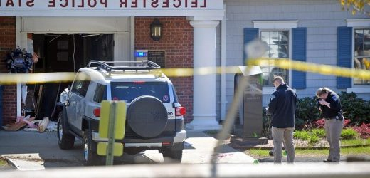 Massachusetts cops kill man who repeatedly rammed SUV into police station, pointed gun at officers: DA