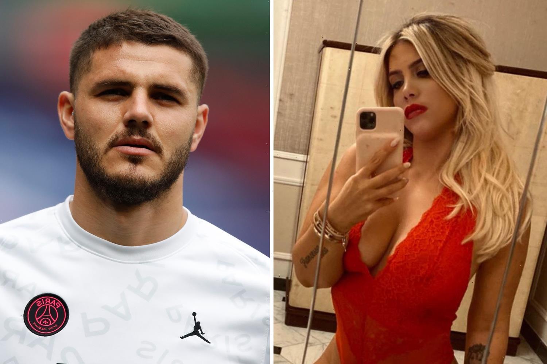 Mauro Icardi 'tells Paris Saint-Germain he wants to leave' with wife and agent Wanda Nara negotiating Serie A return