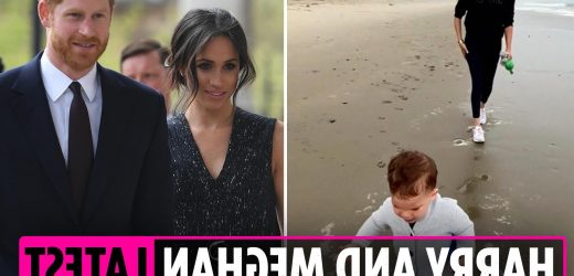Meghan Markle latest news – Harry shares unseen clip of Archie as Meghan tipped to make Oprah daughter's godmother