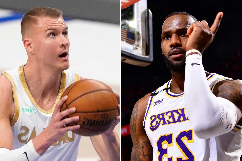NBA punishes Kristaps Porzingis for strip club visit after letting LeBron James off easy