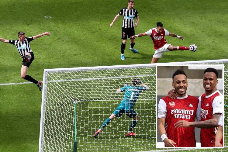 Newcastle 0-2 Arsenal: Aubameyang leads Gunners to victory at St James' Park
