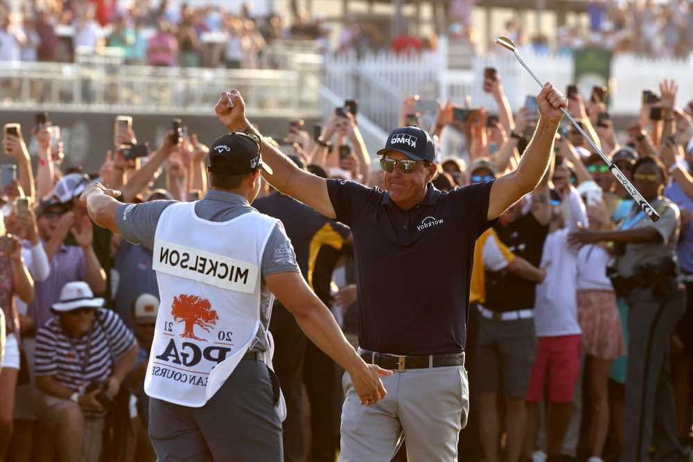 Phil Mickelson's passion, new mindset helped him beat Father Time