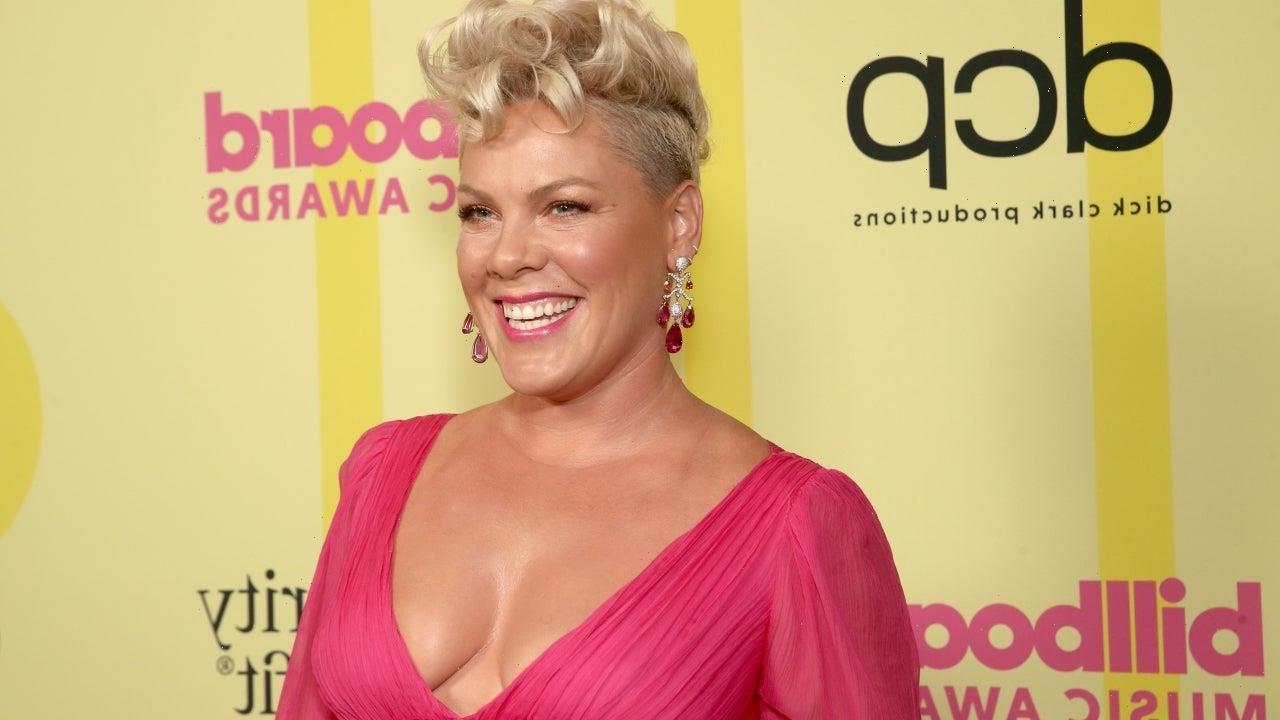 Pink Brings Her Kids to the 2021 Billboard Music Awards: Pics!