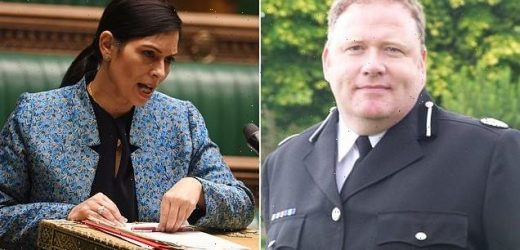 Police chief calls for Priti Patel to 'stand back' from forces