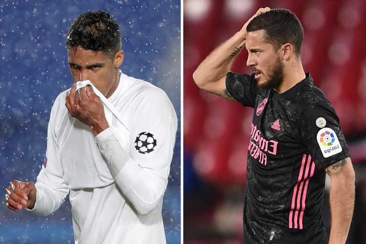 Real Madrid set to AXE 10 stars in summer cull including ex-Chelsea flop Eden Hazard and Man Utd transfer target Varane