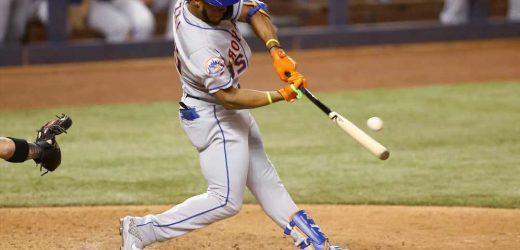 Replacement Mets lead way in wild 12-inning win over Marlins