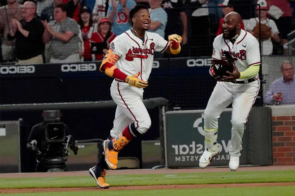 Ronald Acuna Jr. buries wounded Mets with walk-off home run