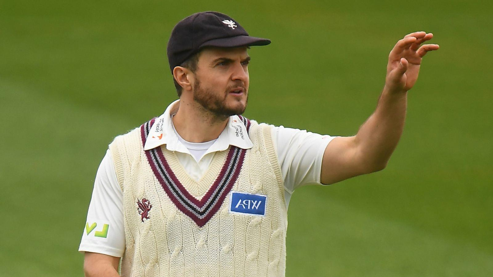 Somerset's Jack Brooks is county cricket's first Covid replacement with Lewis Gregory forced to isolate