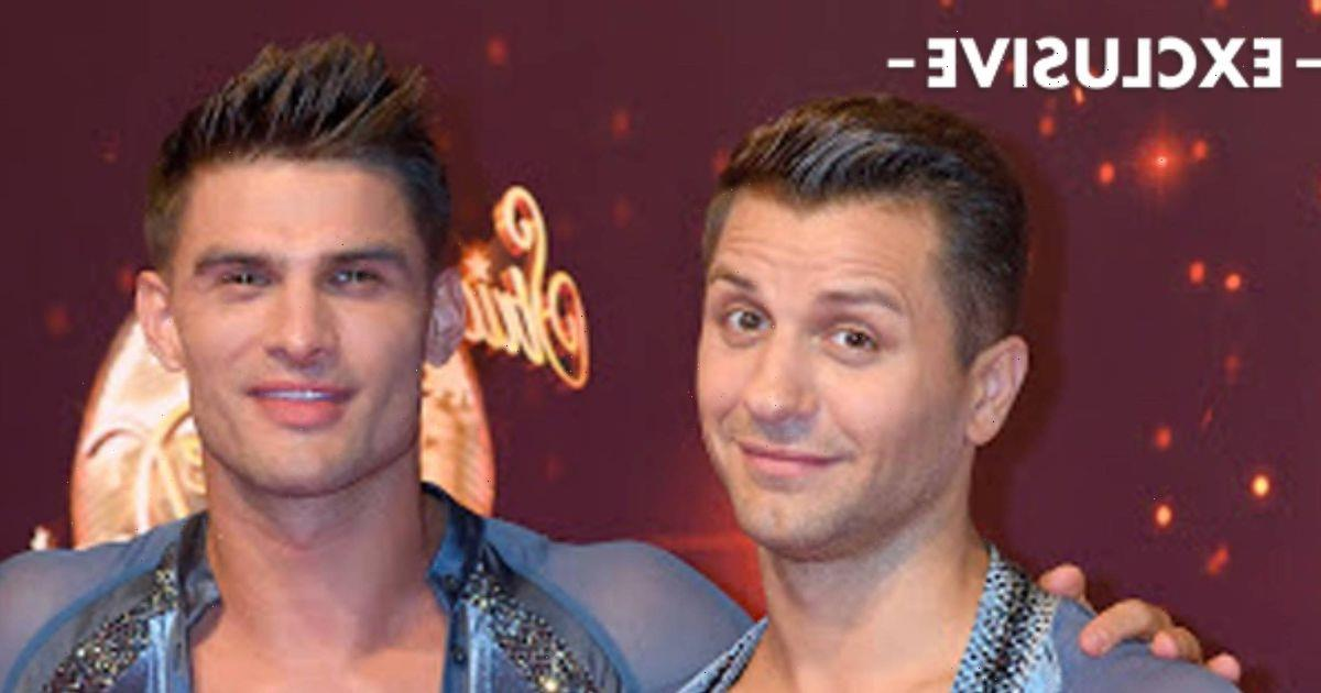 Strictly's Pasha Kovalev and Aljaz Skorjanec on why they prefer dancing on stage to TV: 'The reaction is instant'
