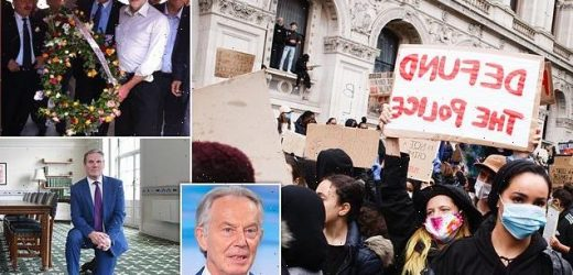 TONY BLAIR: Why kamikaze Left could plunge my party into extinction