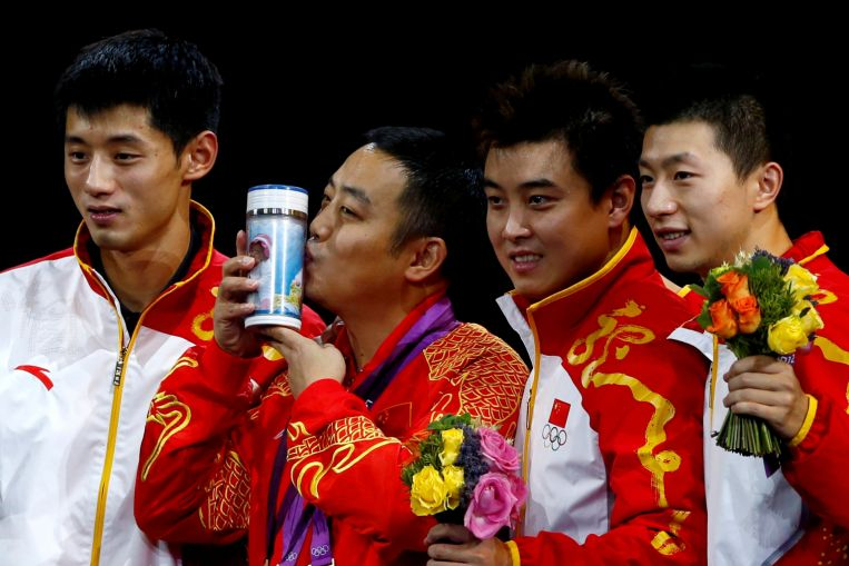 Table tennis: China announces squad for Olympics; world champ Liu out of singles