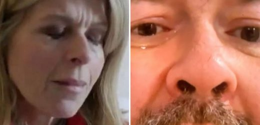 The moment Kate Garraway's husband Derek broke down in tears when she reminded him of one of their dates