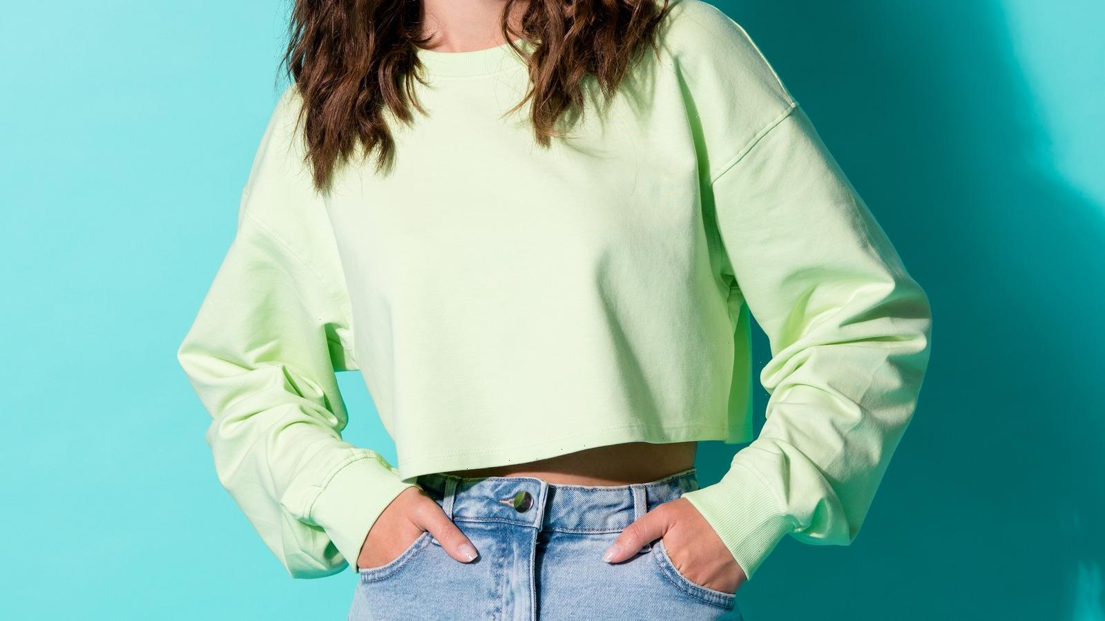 This TikTok Hack To Instantly Crop A Sweater Is A Total Game-Changer